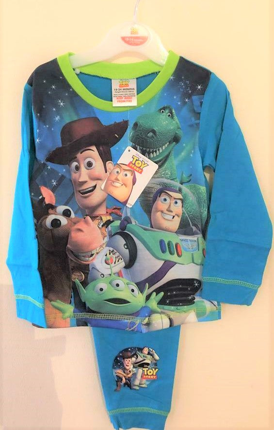 New Disney Toy Story 4 Baby Boys Pyjamas Set Sublimation - Official Exstore - Age 18/24 Months