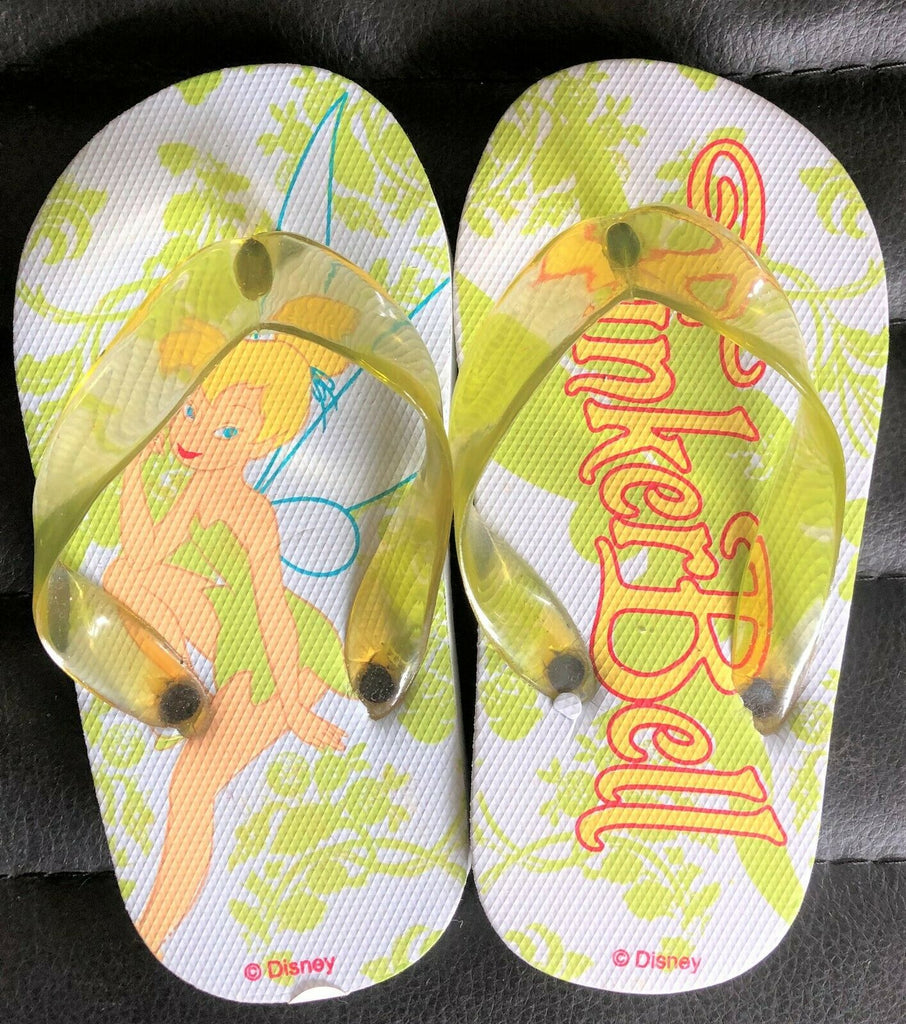 New Disney Baby Girls Tinkerbell Flip Flops Shoe Size Infant 7