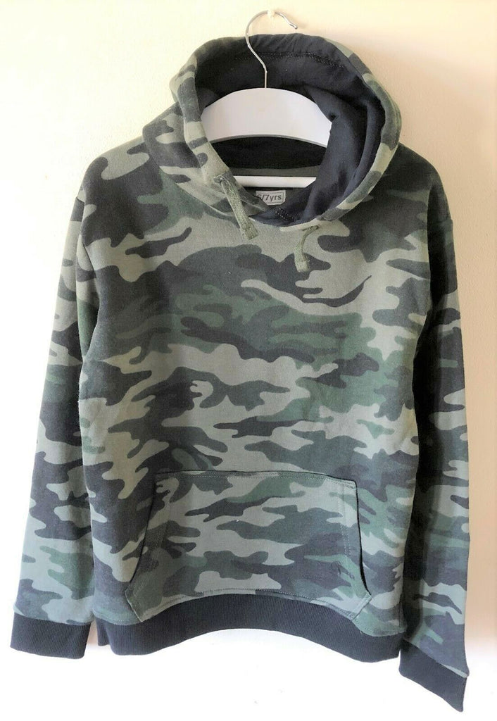 New Boys Green Camoflage Hoodie & Tracksuit Set 2Pcs  - Exstore In Extenso - Ages 4-8 Yrs
