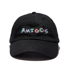 Amigos Full Color Dad Hat - Black
