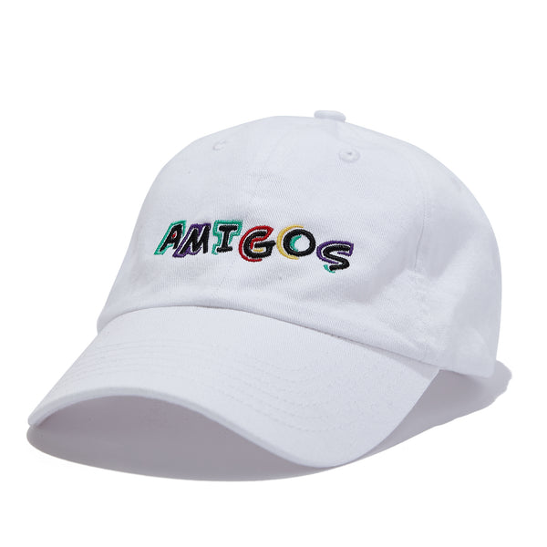 Amigos Full Color Dad Hat - White