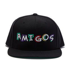 Amigos Full Color Snapback - Black