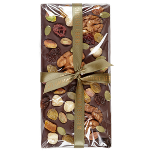 FRUIT & NUT DARK CHOCOLATE BAR