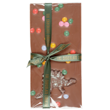 Load image into Gallery viewer, MILK CHOCOLATE DINOSAUR SWEETIE BAR
