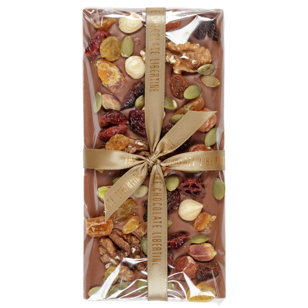 FRUIT & NUT MILK CHOCOLATE BAR
