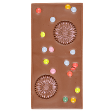 Load image into Gallery viewer, MILK CHOCOLATE FLOWER SWEETIE BAR