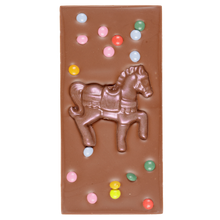 Load image into Gallery viewer, MILK CHOCOLATE PONY SWEETIE BAR