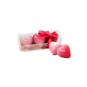 PINK OMBRÉ MINIATURE MILK CHOCOLATE HEARTS