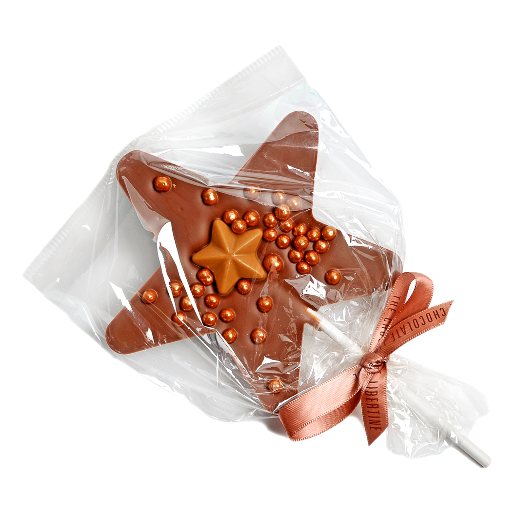 MILK CHOCOLATE CHRISTMAS LOLLY