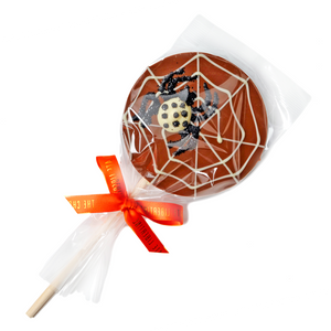 MILK CHOCOLATE SPIDER LOLLY