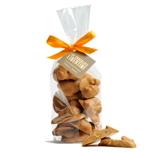 Blonde Chocolate Peanut Clusters