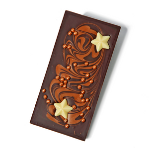 Salted Caramel Dark Chocolate Festive Bar