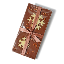Load image into Gallery viewer, MILK CHOCOLATE FESTIVE BAR
