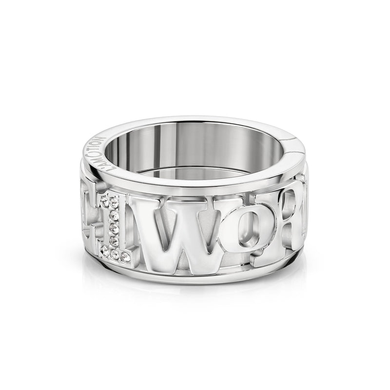 1 WORLD 1 LOVE Ring