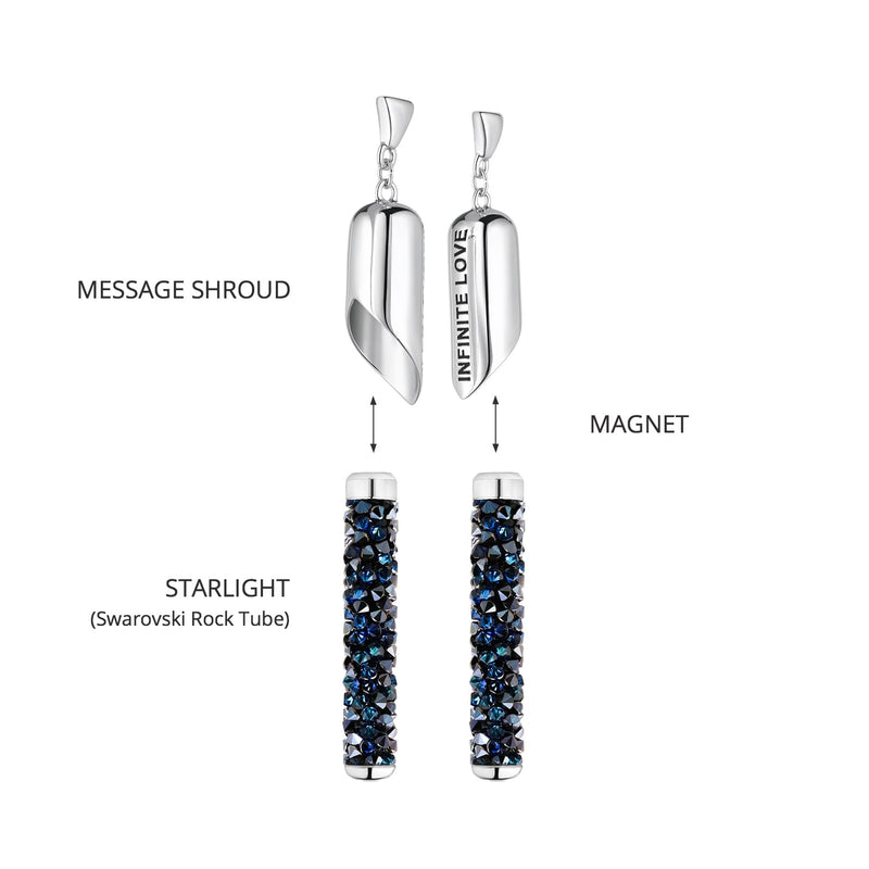 INFINITE LOVE Earring (Bermuda Blue)