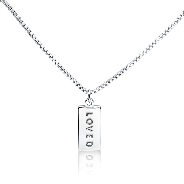 'LOVED' necklace