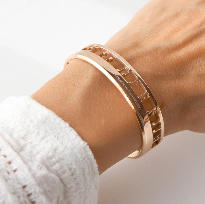 MUSIC Melody Cuff roségold