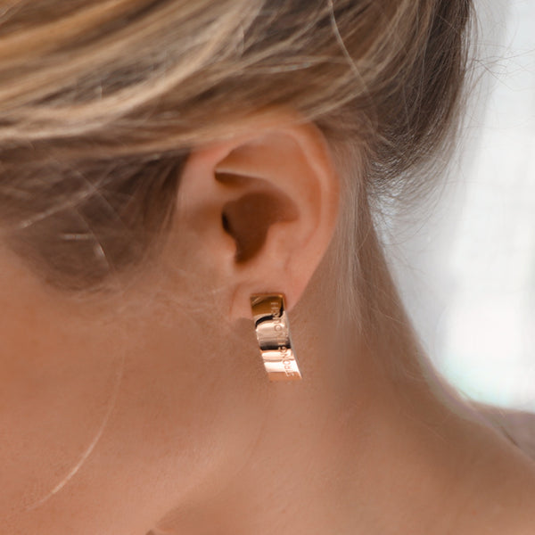 'STRONG ENOUGH' earrings