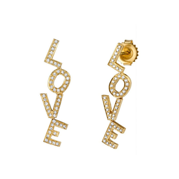 Love Letter Stud Earring