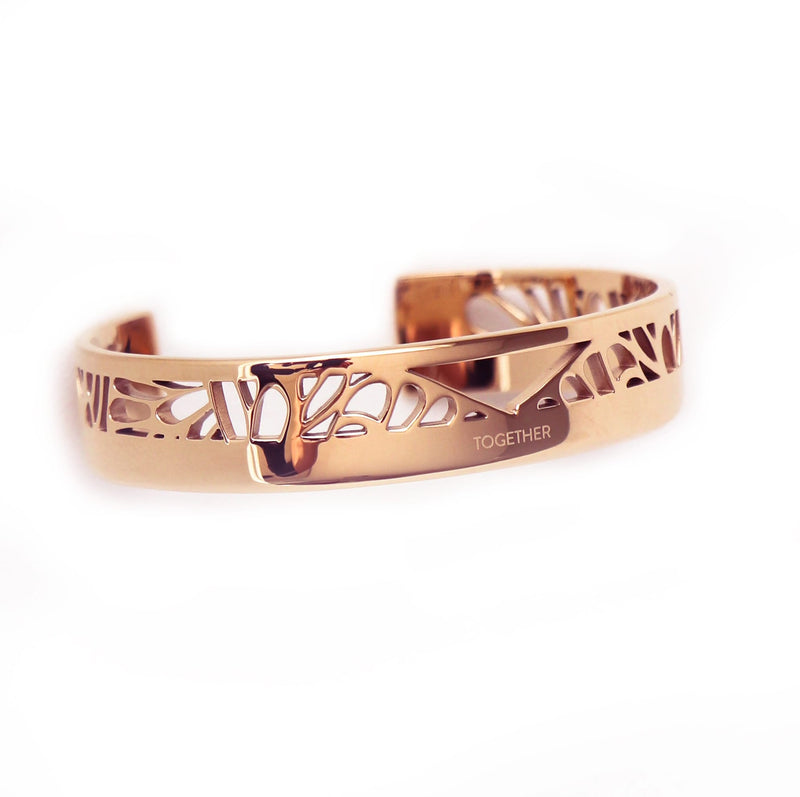 TOGETHER Cuff roségold