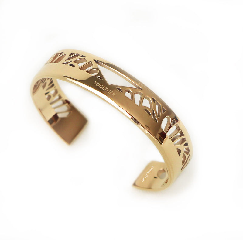 TOGETHER Cuff gold