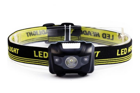 600LM Mini LED Infrared Ray Outdoor Headlamp