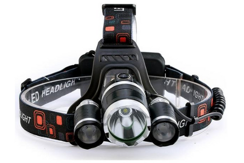 13000 LUMEN 4-MODE WATERPROOF OUTDOOR HEADLAMP