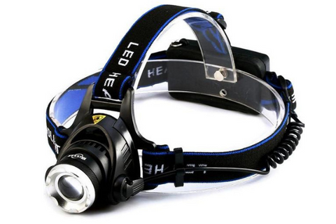 6000 Lumens Inductive LED Waterproof Outdoor Headlamp Headlight