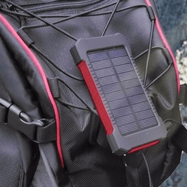 Waterproof Solar Power Bank With Compass
