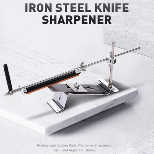 Iron Steel Professional Knife Sharpener With Stones