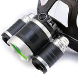13000 LUMENS 4 MODES RECHARGEABLE LED FISHING HEADLAMP