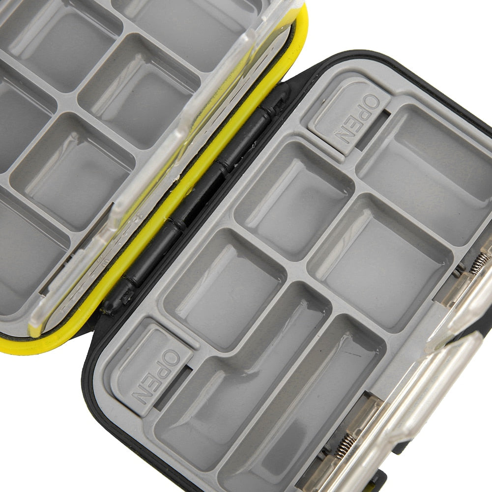 QK Box ABS Waterproof Fishing Tackle Box