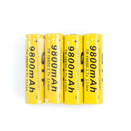 18650 3.7V 9800mAh Lithium-ion Rechargeable Batteries