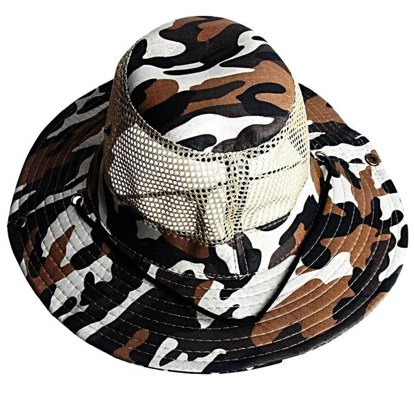 Outdoor Fishing Mesh Hat