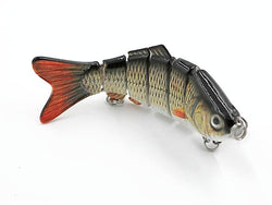 Multi Jointed Life-Like Fishing Lure