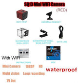 Mini WIFI 1080P FULL HD Night Vision and Waterproof Outdoor Camera