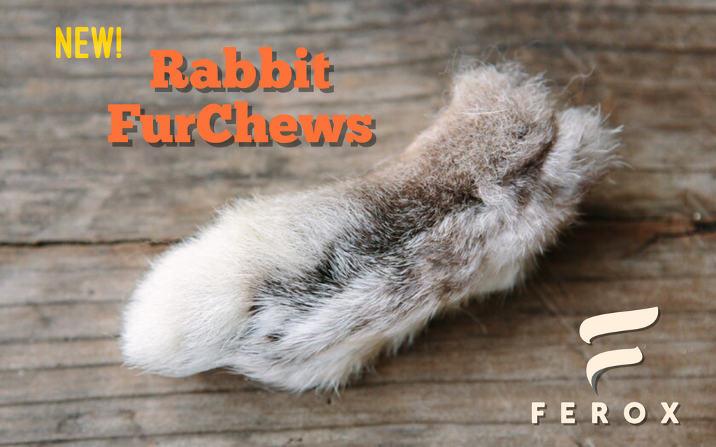 Rabbit furchews, dehydrated snacks dogs, dehydrated snacks cats,