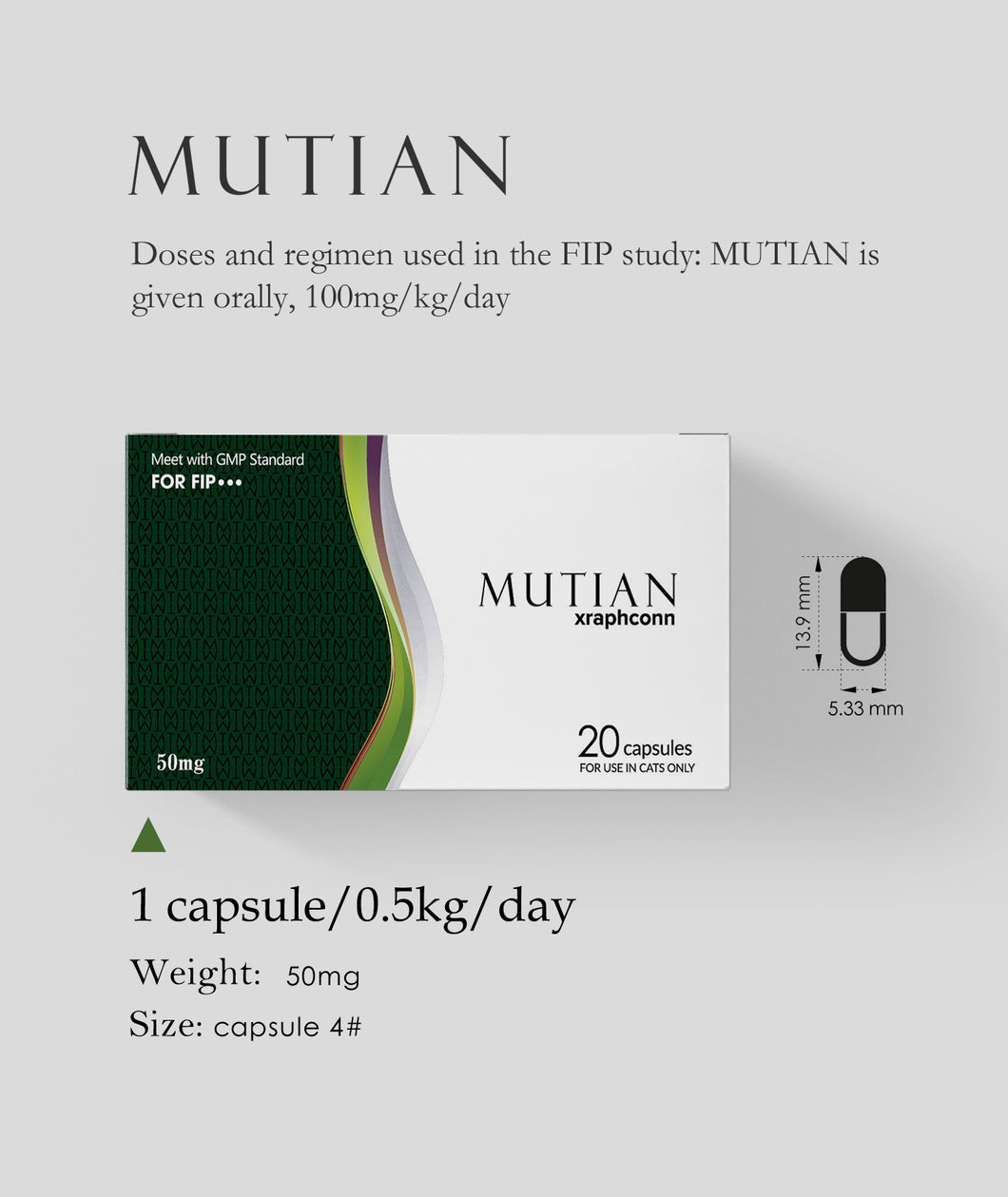 MUTIAN Cat Healthcare Supplements