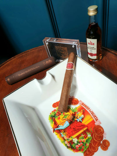 Tasting of the Romeo y Julieta Mille Fleur with The Hine Cigar Reserve XO