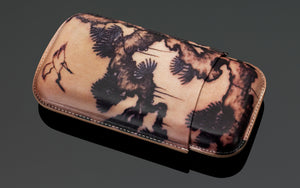 PCC Siglo Tattoo Leather Case Painting