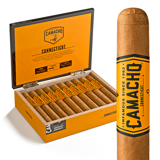 Camacho Connecticut Robusto Tubos