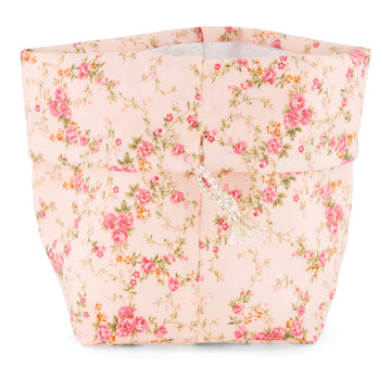 PANIER TROUSSE UP AND GO floral rose