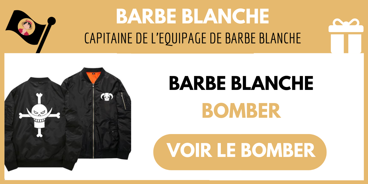 bomber barbe blanche