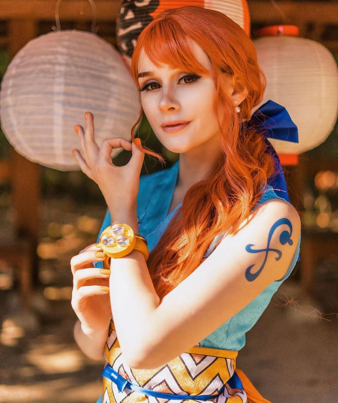 Cosplay Nami One Piece