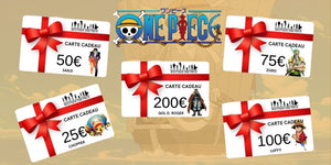 carte cadeau boutique one piece