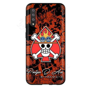 Boutique One Piece Accessoire for Samsung A50 / 10 Coque One Piece Logo De Portgas D Ace