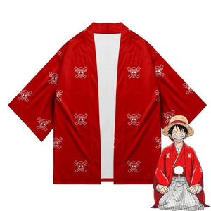 Boutique One Piece Cosplay Cosplay One Piece Kimono Wano Kuni Luffy