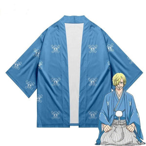 Boutique One Piece Cosplay Cosplay One Piece Kimono Wano Kuni Sanji