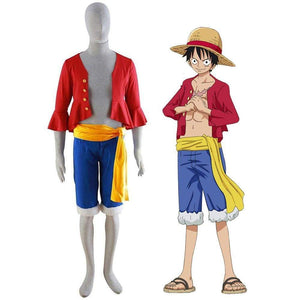 Boutique One Piece Cosplay Cosplay One Piece Monkey D Luffy