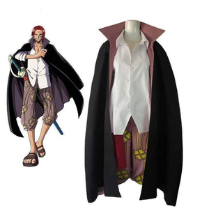 Boutique One Piece Cosplay Cosplay One Piece Shank's Le Roux